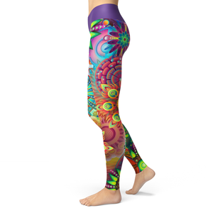 Yoga Leggings Kaleidos - HIG Activewear - Yoga Leggings