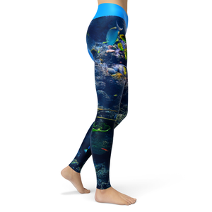 Yoga Leggings Reef - HIG Activewear - Yoga Leggings