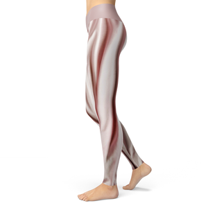 Yoga Leggings Rose - HIG Activewear - Yoga Leggings