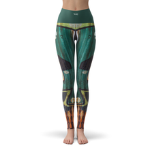 Load image into Gallery viewer, Yoga Leggings Rust - HIG Activewear - Yoga Leggings