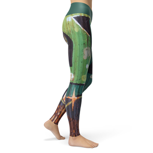 Yoga Leggings Rust - HIG Activewear - Yoga Leggings