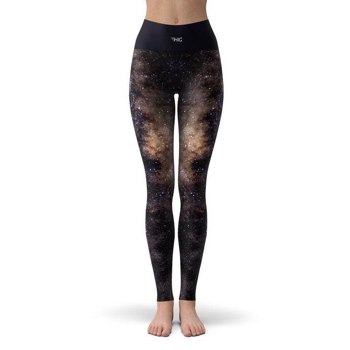 Yoga Leggings Space - HIG Activewear - Yoga Leggings