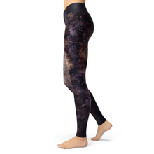 Load image into Gallery viewer, Yoga Leggings Space - HIG Activewear - Yoga Leggings