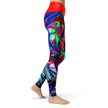 Load image into Gallery viewer, Yoga Leggings Swirl - HIG Activewear - Yoga Leggings