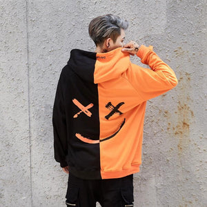 2019 Spring New Hip Hop Fashion Print Design Hoodie