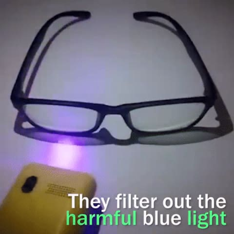 Blue Light Blocking Glasses - SAVE 50% TODAY ONLY!
