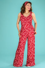 Load image into Gallery viewer, Emmy The Biarritz beach pajamas Red Art Deco