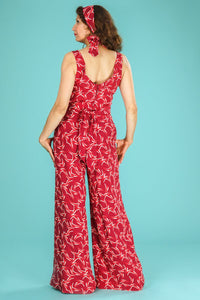 Emmy The Biarritz beach pajamas Red Art Deco
