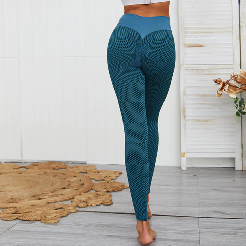 Legging taille haute push up sport