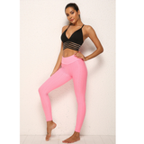 legging push up anti cellulite rose