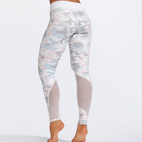Ensemble legging, brassière, camouflage - passionduleggings