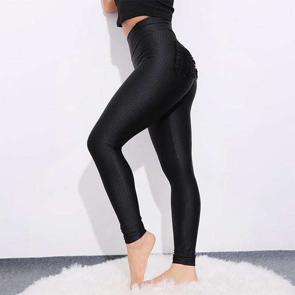 Legging BlackOks Push Up, motifs à carreaux, poches fessier - passionduleggings