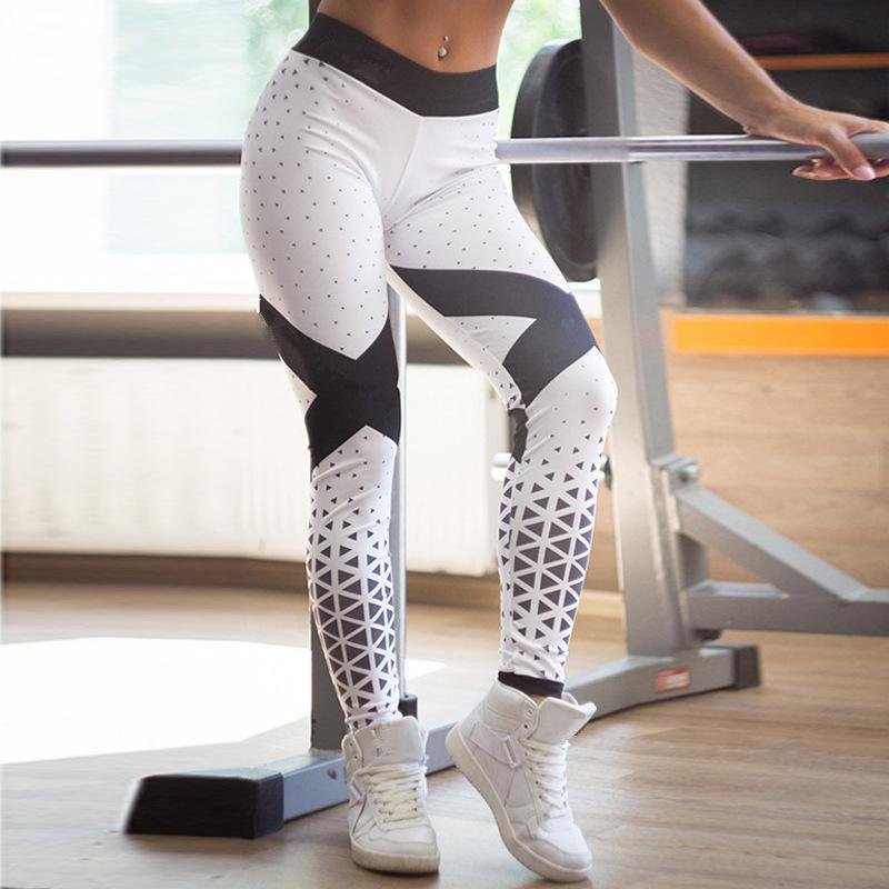 Legging bleu | blanc - passionduleggings