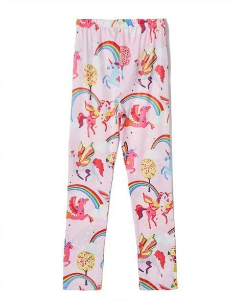 Legging fille licorne rose - passionduleggings