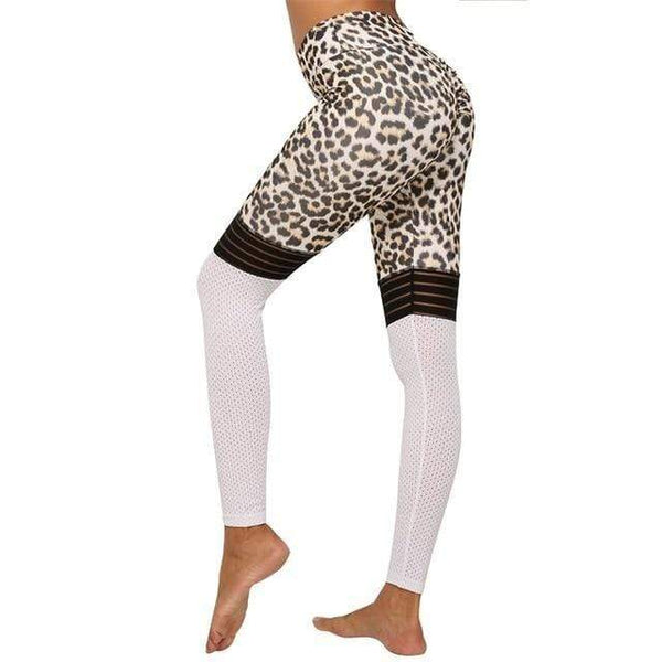Legging léopard sport - passionduleggings