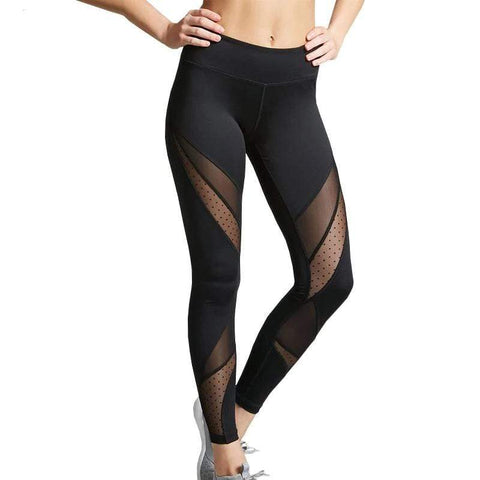 Legging transparent sport noir - passionduleggings