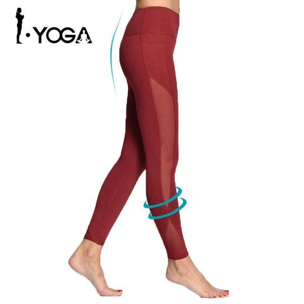 Legging Yoga, taille haute extra confort - passionduleggings