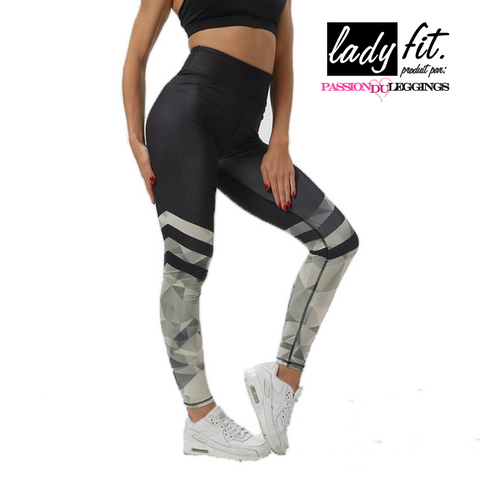 Legging Sport - Black Level par LadyFit™