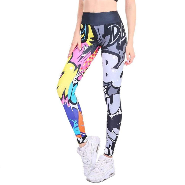 "Leggings à motifs ""street art"" - passionduleggings"