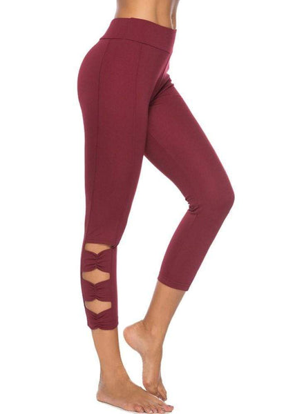 Leggings #Casual rouge - passionduleggings