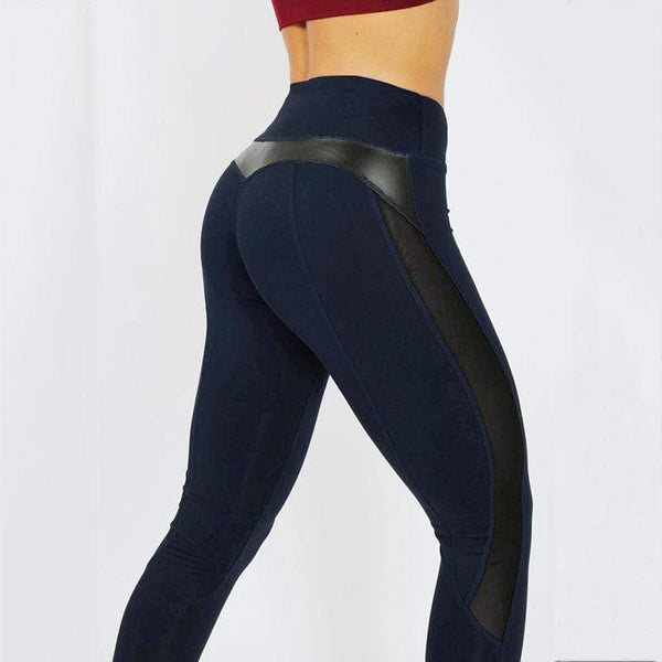 Leggings fitness avec bande transparente - passionduleggings