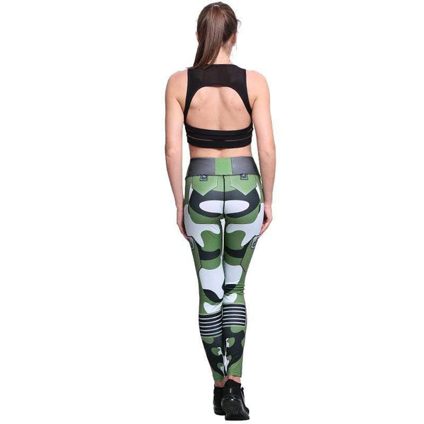 Leggings moulant armée militaire - passionduleggings