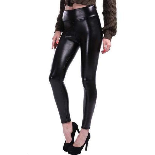 Leggings simili cuir noir - passionduleggings