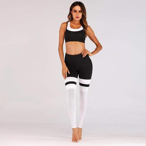 Leggings #Sport, avec motifs - passionduleggings