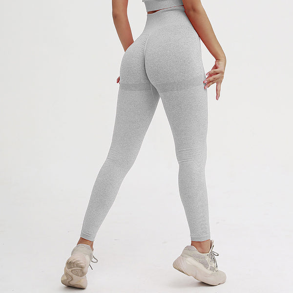 legging effet push up, gris