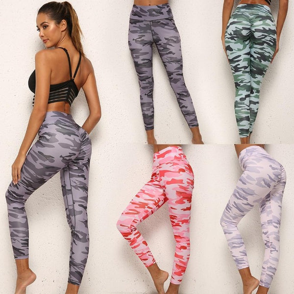 Choisi ton legging camouflage push up