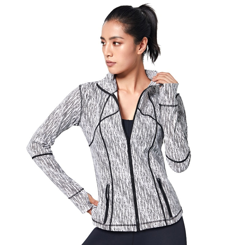 Veste Sport Zippée Poches, passionduleggings