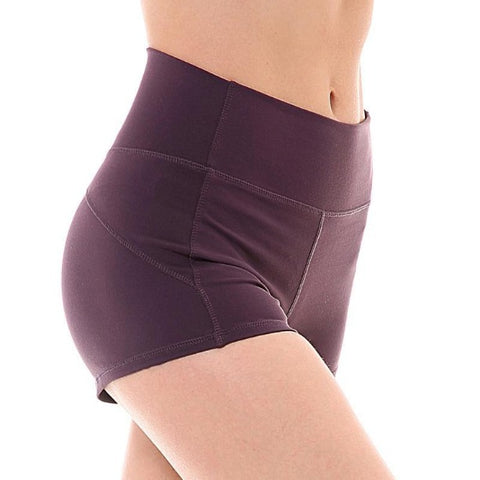 Short court taille haute nylon - passionduleggings