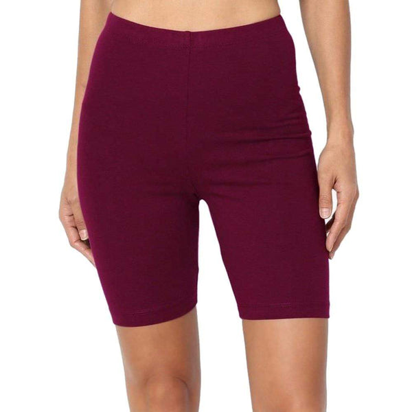 Bordeaux / S Short legging basique