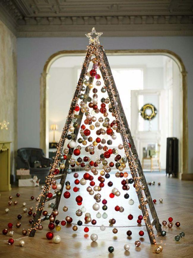 We make a luxurious Christmas tree from balls with our own hands for the New Year 2021: a step-by-step master class