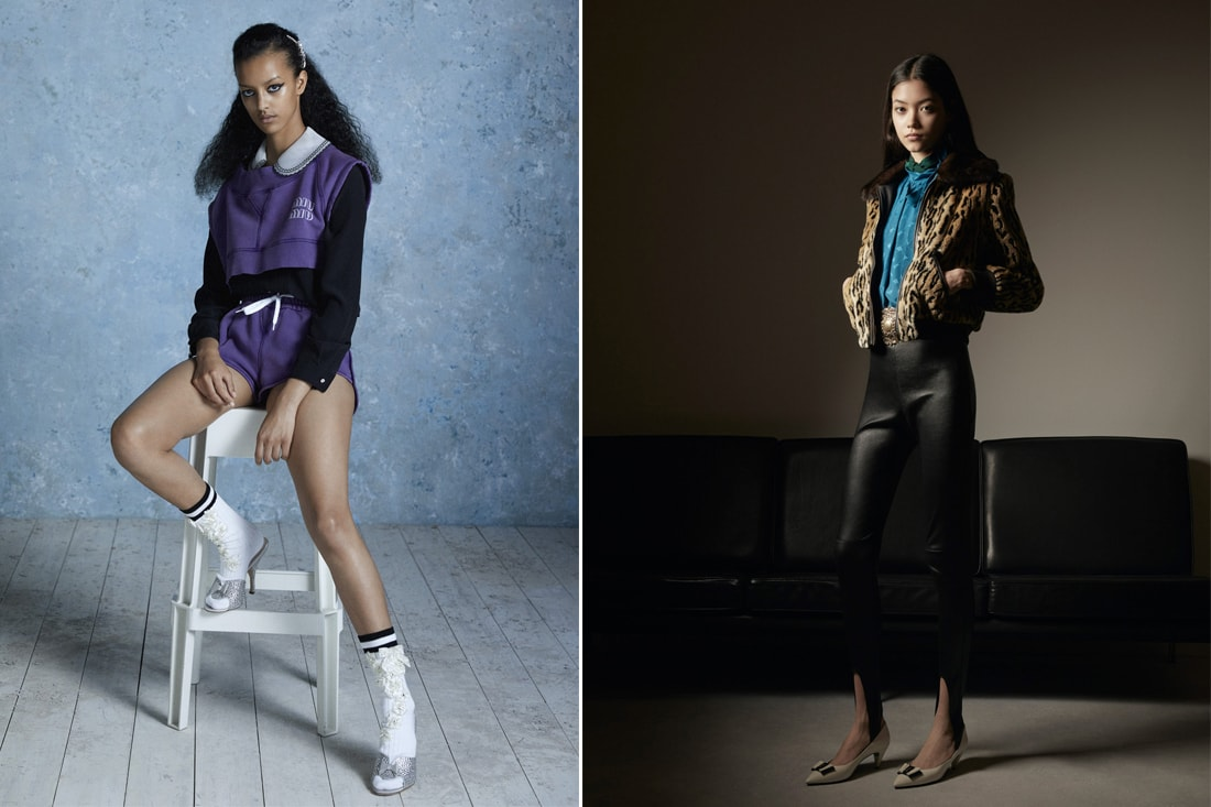 Sport chic, leggings from the 90s, bright tights