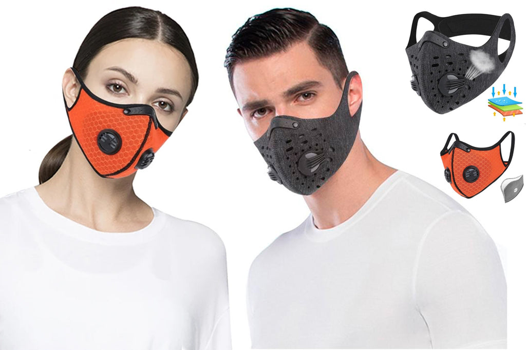 Anti Dust Face Mask With Filter Activated Carbon