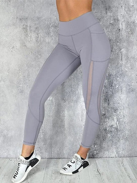 High Waisted Leggings With