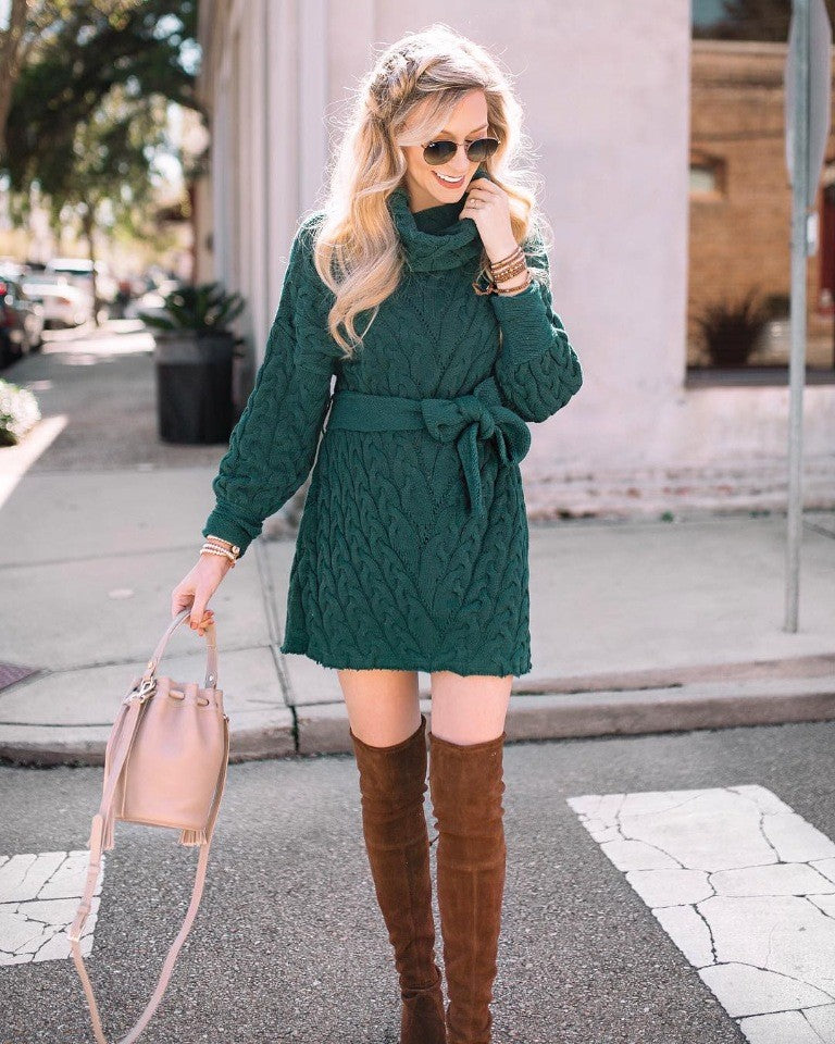 Every woman wants to have a trendy and cute knitted dress.