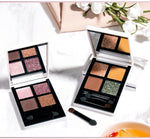 Load image into Gallery viewer, 4 colors Glitter Eyeshadow Palette Hopikas