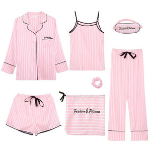 7 Pieces Pajamas Sets Hopikas 1 XXL