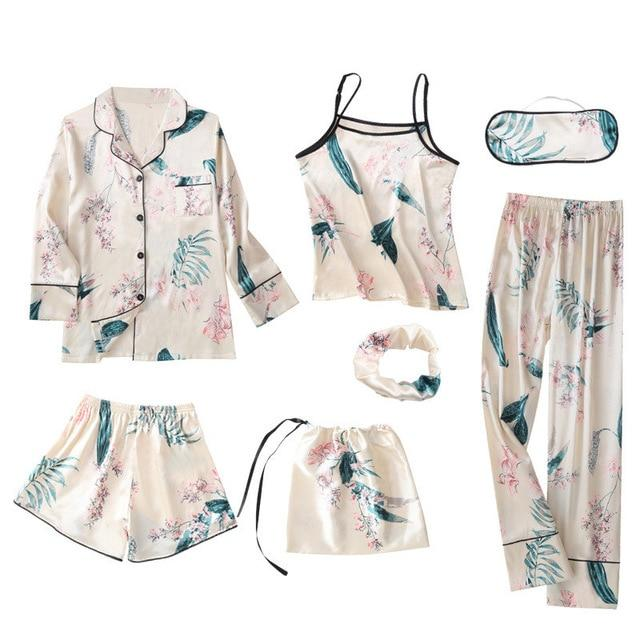 7 Pieces Pajamas Sets Hopikas 4 XXL