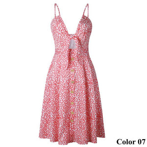 Boho Style Beach Dress Hopikas Color 07 L
