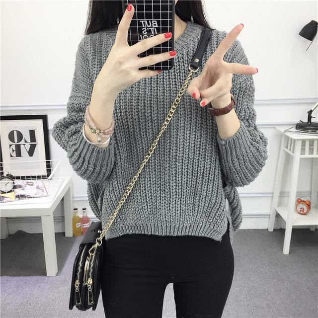 Cashmere Sweater Hopikas Gray
