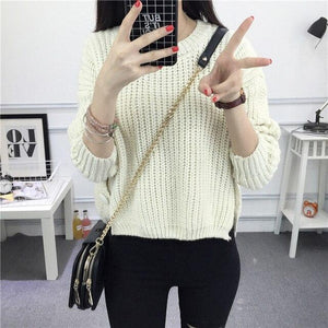 Cashmere Sweater Hopikas White
