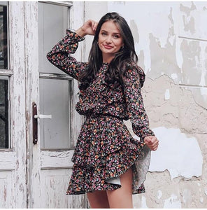 Casual Floral Dress Hopikas