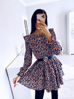 Load image into Gallery viewer, Casual Floral Dress Hopikas