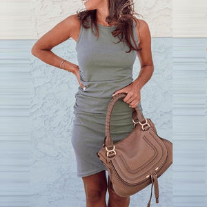 Casual Summer Dress Hopikas Grey S