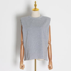 Casual Womens Tank Top Hopikas gray XL