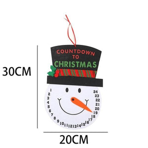 Christmas Calendar Gifts Santa Claus Dolls Elf Hopikas Clock 2