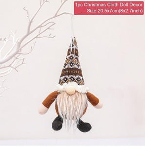 Christmas Doll Decorations For Home Hopikas 15